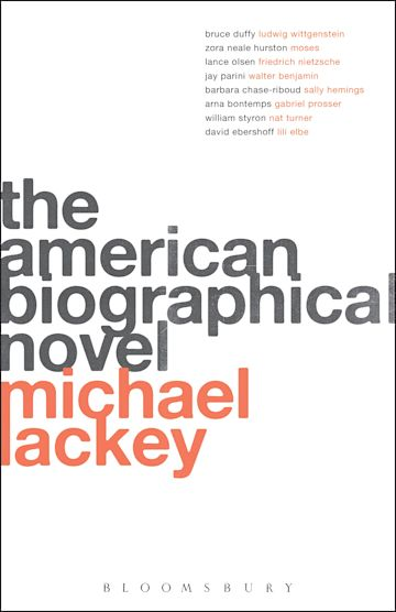 The American Biographical Novel cover
