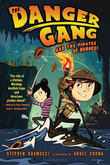 The Danger Gang and the Pirates of Borneo! cover