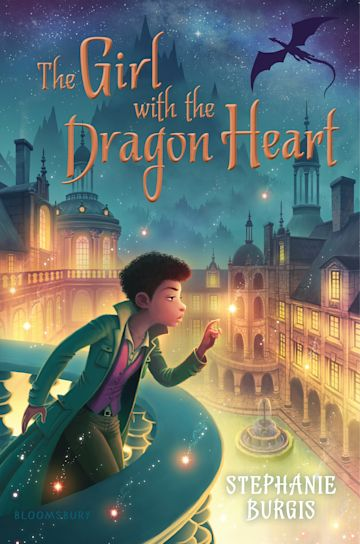 The Girl with the Dragon Heart cover