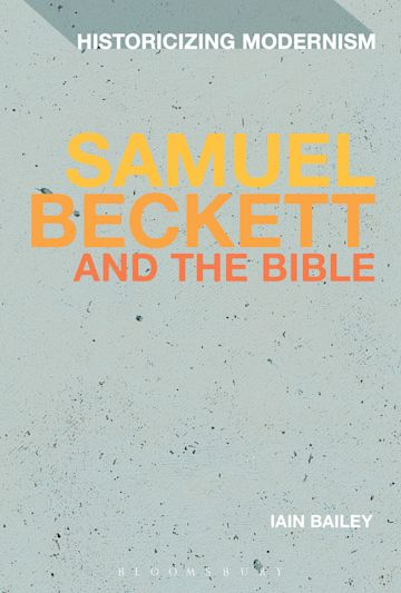 Samuel Beckett and The Bible cover