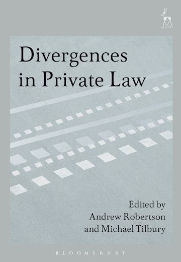 Divergences in Private Law cover