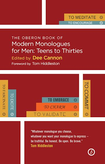 The Methuen Drama Book of Modern Monologues for Men cover