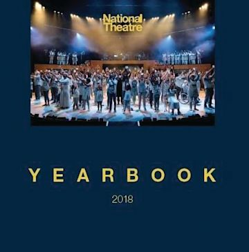 The National Theatre Yearbook cover