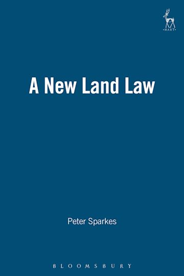 A New Land Law cover