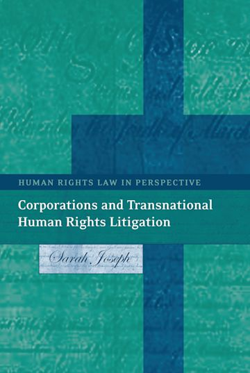Corporations and Transnational Human Rights Litigation cover