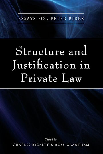 Structure and Justification in Private Law cover