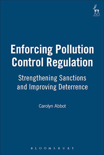 Enforcing Pollution Control Regulation cover