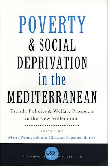 Poverty and Social Deprivation in the Mediterranean cover