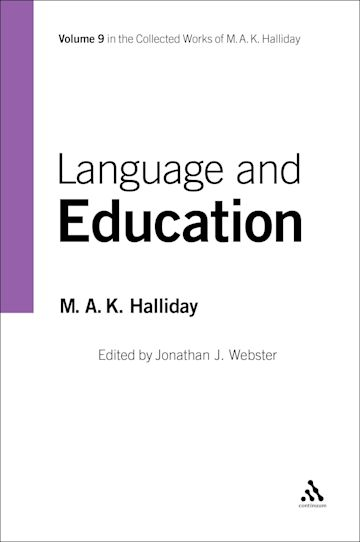 Language and Education cover