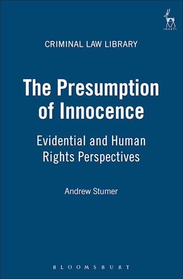 The Presumption of Innocence cover