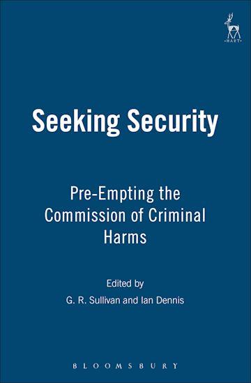 Seeking Security cover