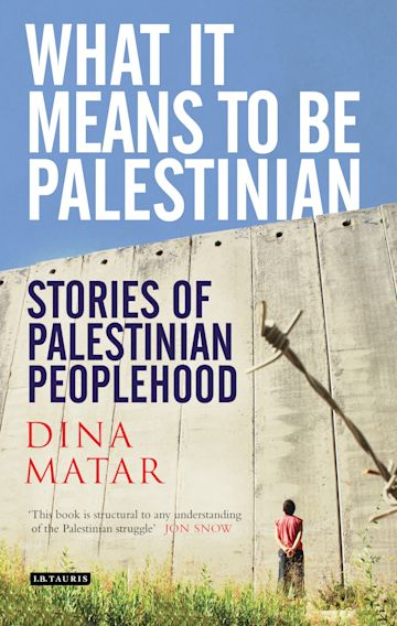 What it Means to be Palestinian cover