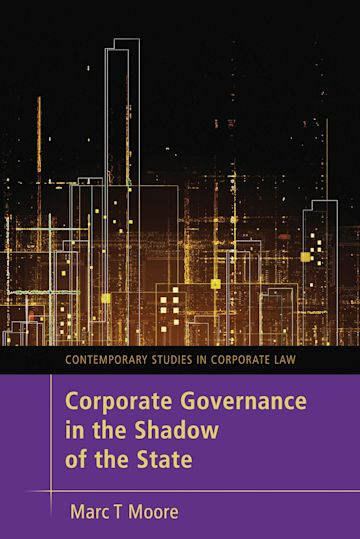 Corporate Governance in the Shadow of the State cover