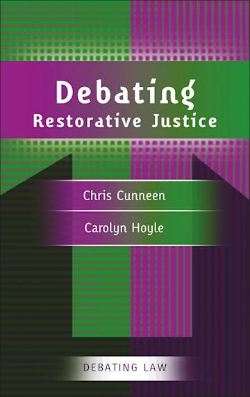 Debating Restorative Justice cover