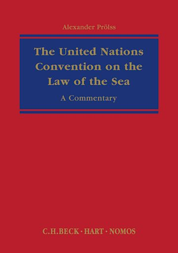 The United Nations Convention on the Law of the Sea cover