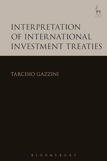 Interpretation of International Investment Treaties cover
