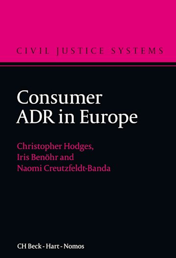 Consumer ADR in Europe cover