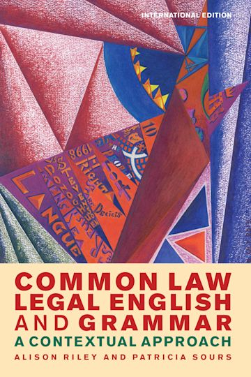 Common Law Legal English and Grammar cover