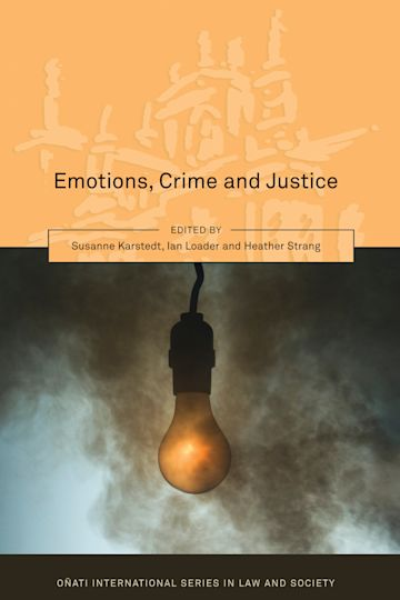 Emotions, Crime and Justice cover