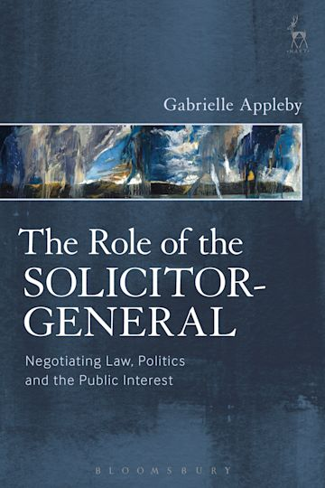 The Role of the Solicitor-General cover