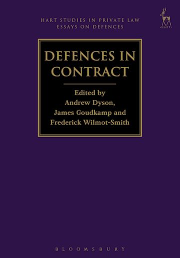 Defences in Contract cover