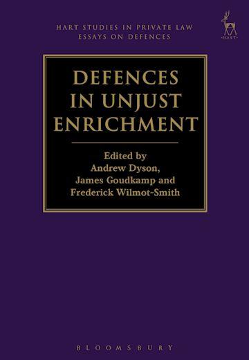 Defences in Unjust Enrichment cover