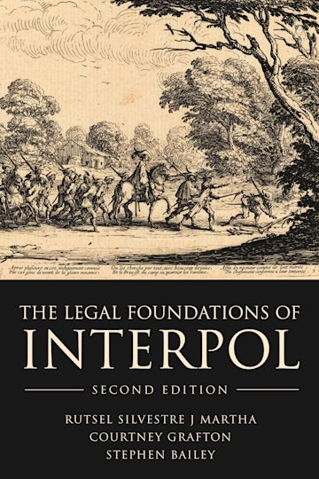 The Legal Foundations of INTERPOL cover