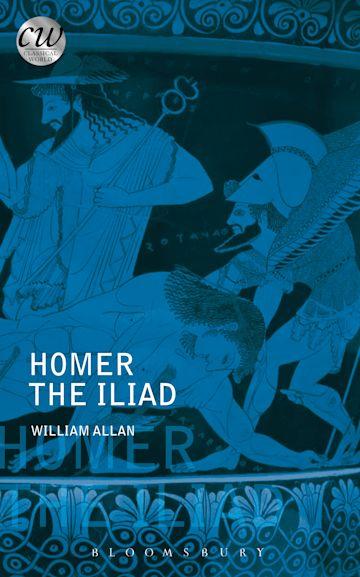 Homer: The Iliad cover
