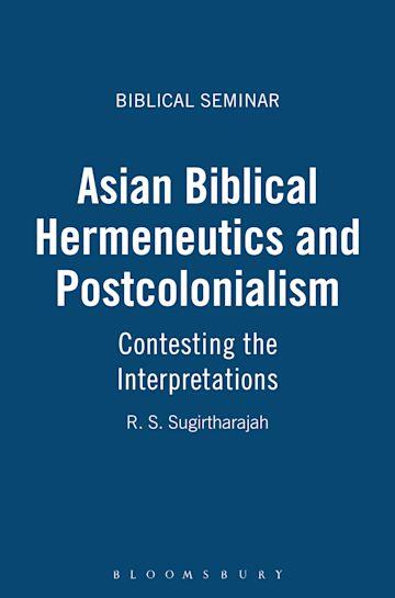 Asian Biblical Hermeneutics and Postcolonialism cover