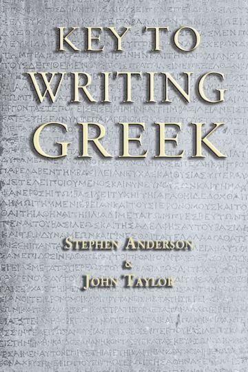 Key to Writing Greek cover
