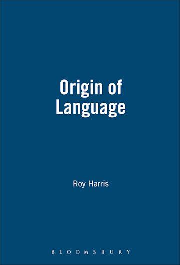 Origin Of Language cover