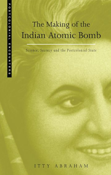 The Making of the Indian Atomic Bomb cover