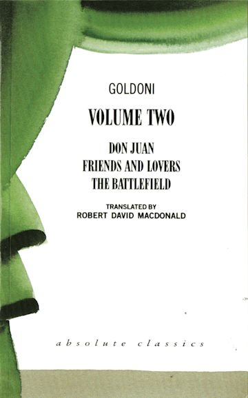 Goldoni: Volume Two cover