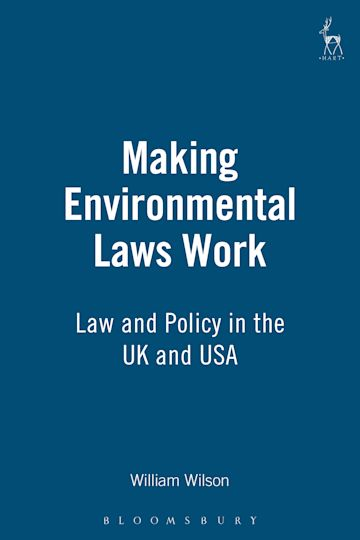 Making Environmental Laws Work cover