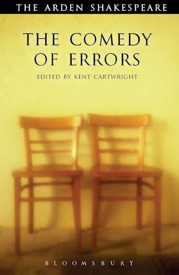 The Comedy of Errors cover