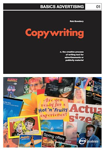 Basics Advertising 01: Copywriting cover