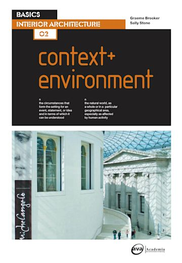Basics Interior Architecture 02: Context & Environment cover