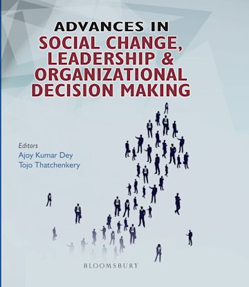 Advances in Social Change, Leadership and Organizational Decision Making cover