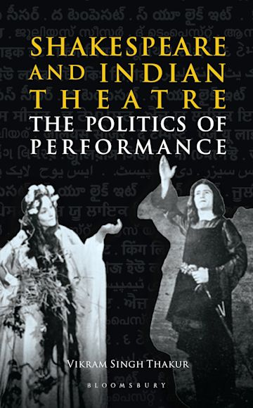 Shakespeare and Indian Theatre cover