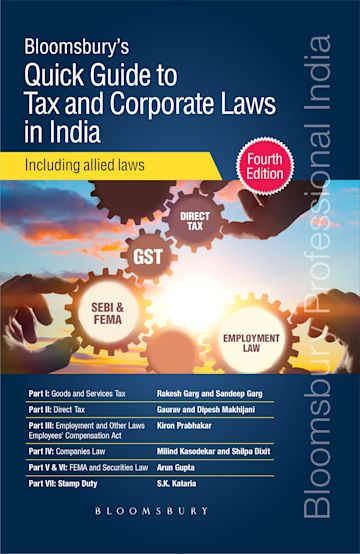 Guide to Tax and Corporate Laws in India cover