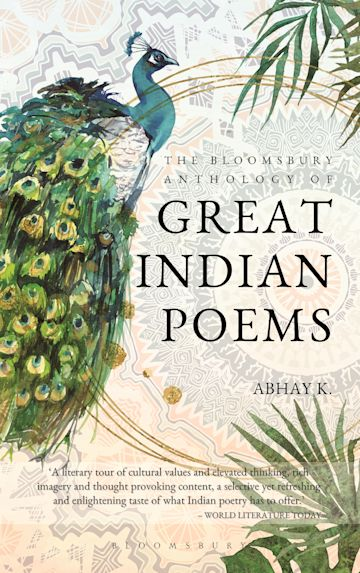 The Bloomsbury Anthology of Great Indian Poems cover