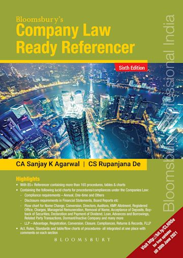 Bloomsbury's Company Law Ready Referencer cover