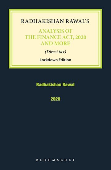 Radhakishan Rawal's Analysis of the Finance Act, 2020 and More cover