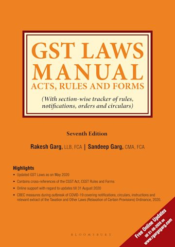 GST Laws Manual cover