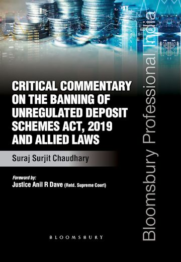 Critical Commentary on the Banning of Unregulated Deposit Schemes Act, 2019 and Allied Laws cover