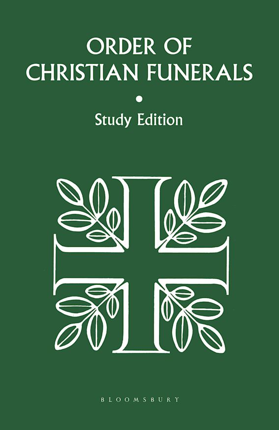 Order Of Christian Funerals Study Ed cover