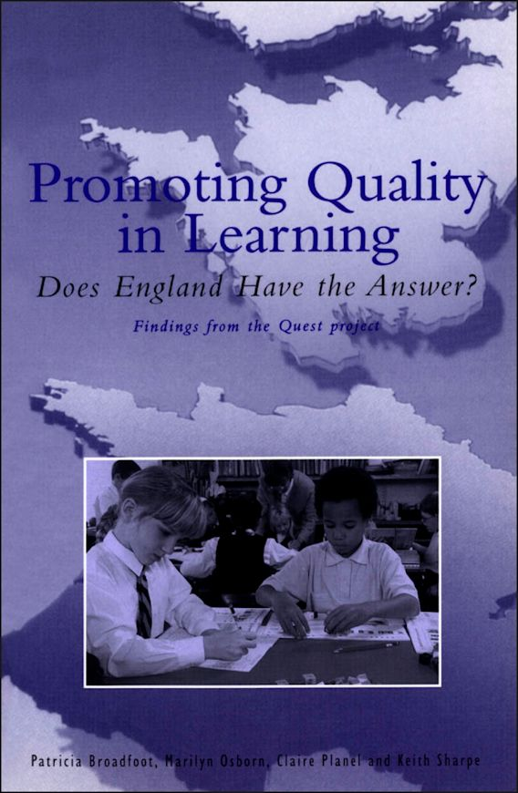 Promoting Quality in Learning cover