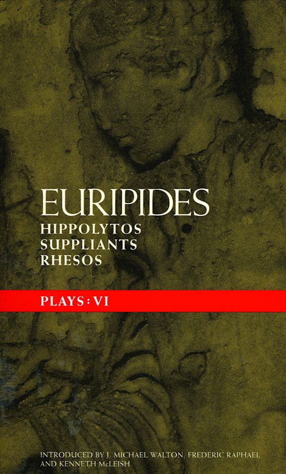 Euripides Plays: 6 cover