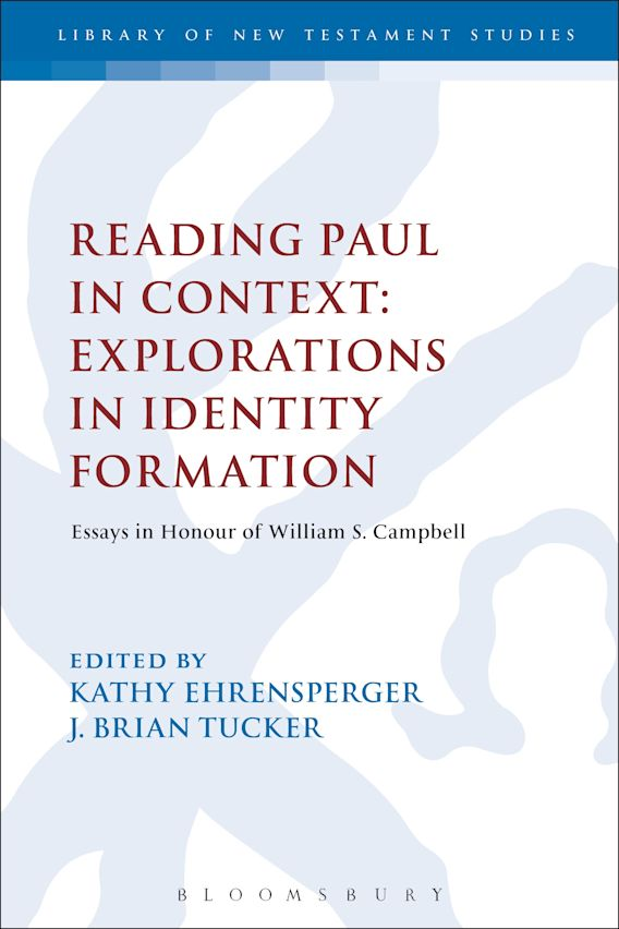 Reading Paul in Context: Explorations in Identity Formation cover