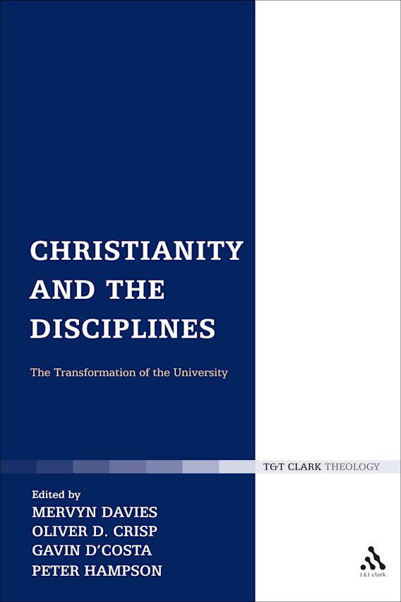 Christianity and the Disciplines cover